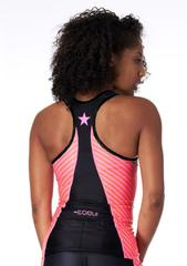 Coeur Women's Triathlon Top in Lucky Star Design