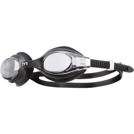 TYR Big Swimple Goggles Black White