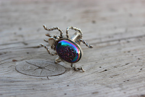 BEETLE RING - ref.A4041