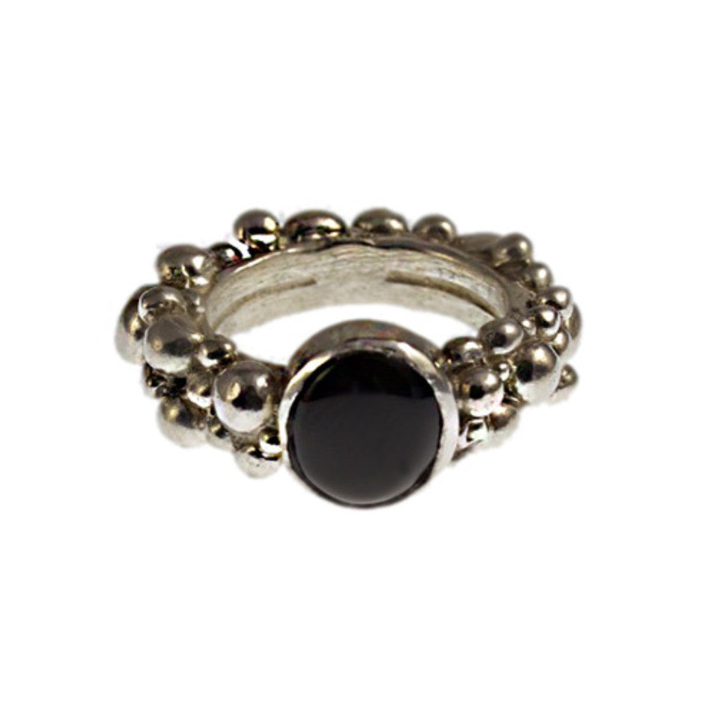 Haos Black Onyx ring