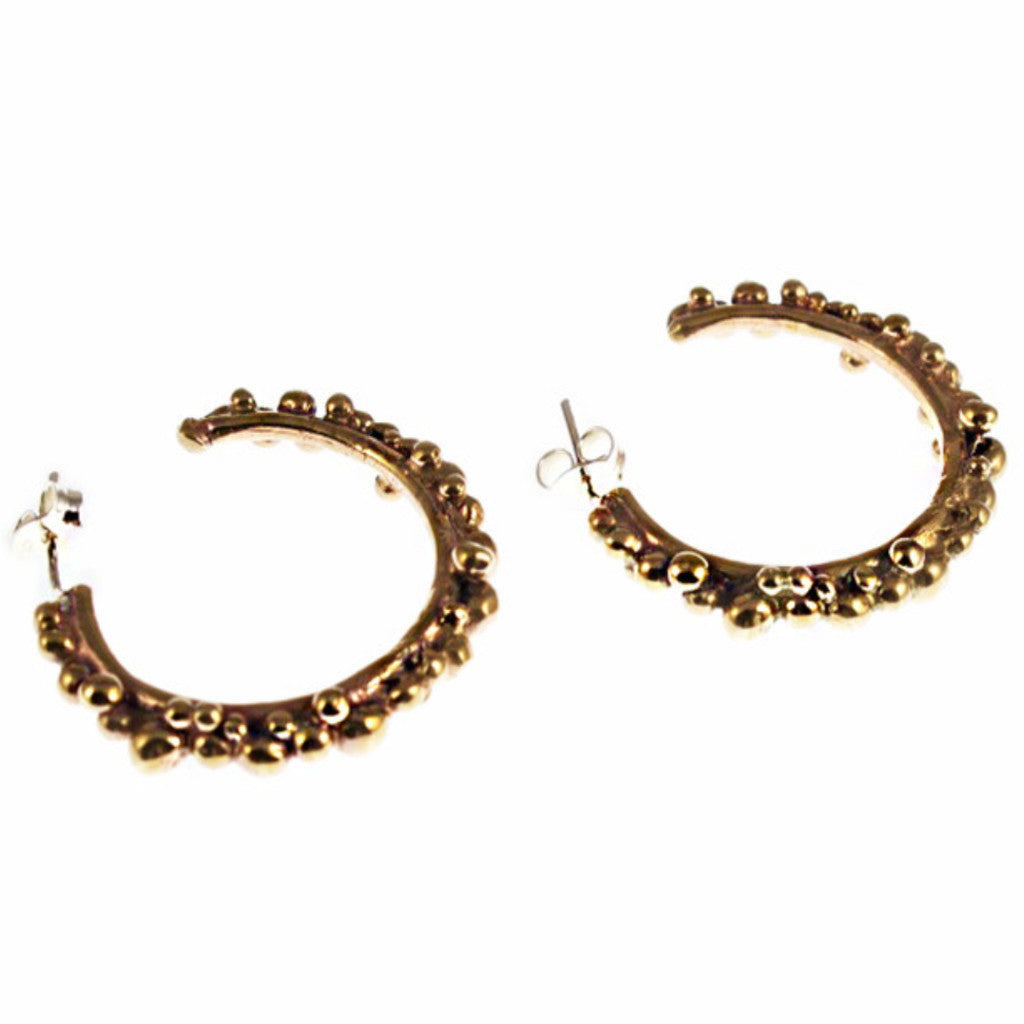 Haos hoops earrings