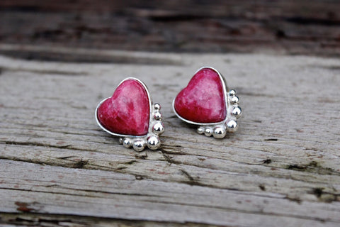 HEART EARRINGS - ref.P233