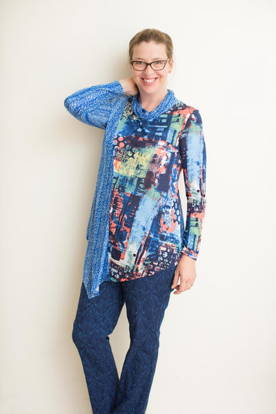 Bindy : Tunic in Lightweight Rayon Knits