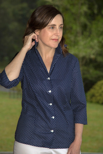 Kirsty Fitted Cotton Shirt