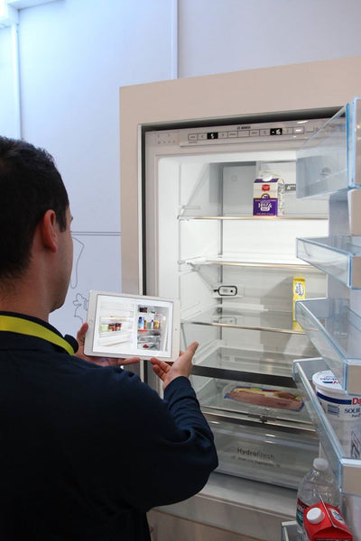 Smart Fridge at Consumer Electronics Show