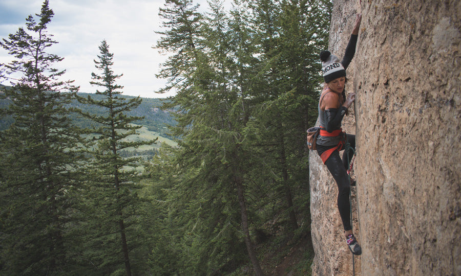 Climbing Higher Grades in Wyoming