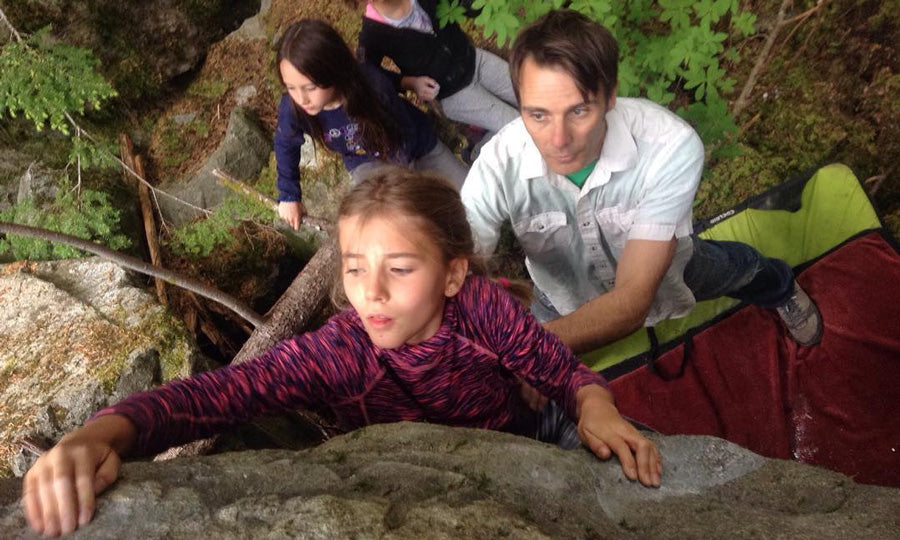 A Summer Full of Family Bouldering Time