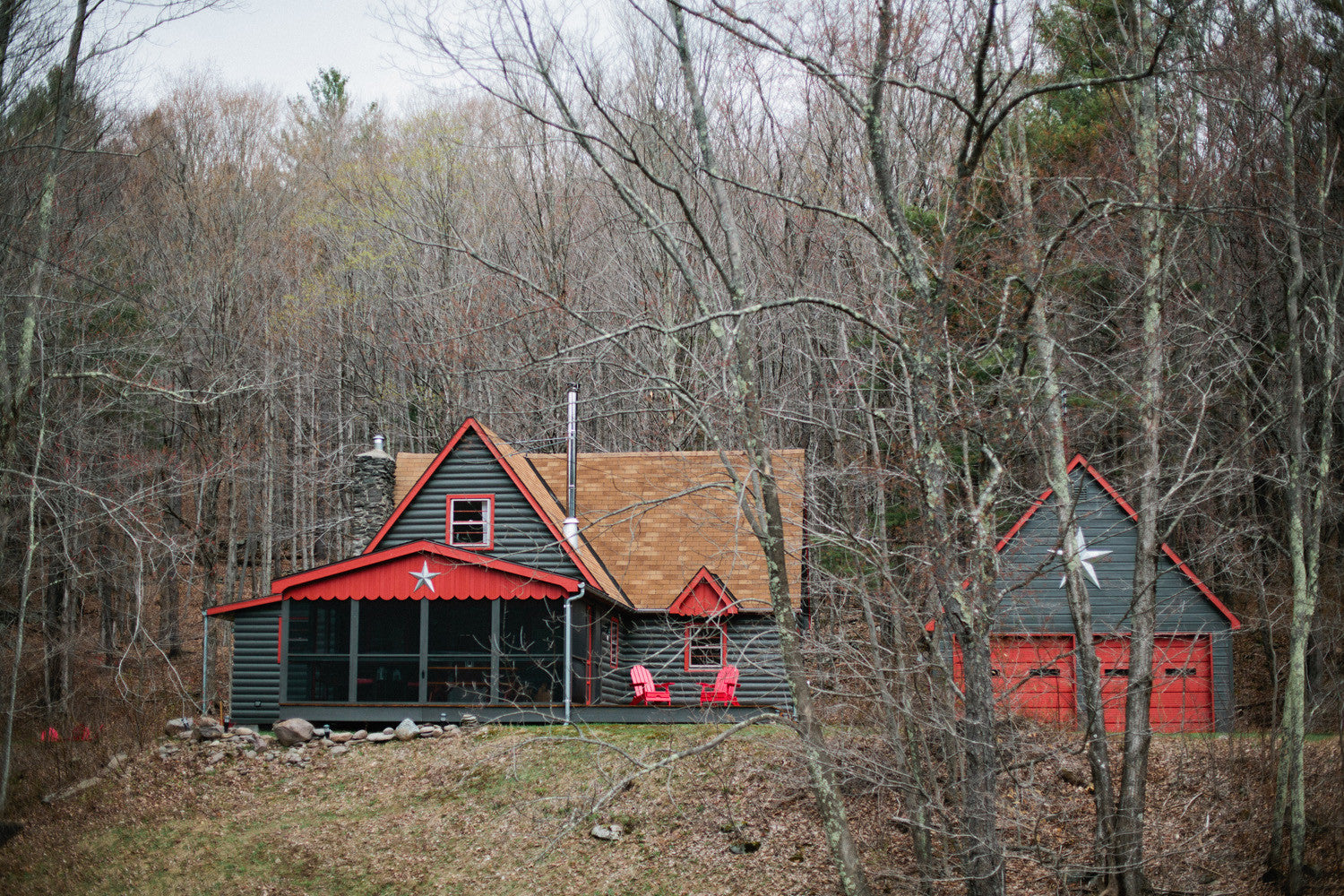 Catskills, New York - Cabin