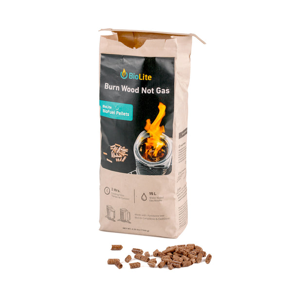 Biolite fuel starter kit foodsafe wood pellets