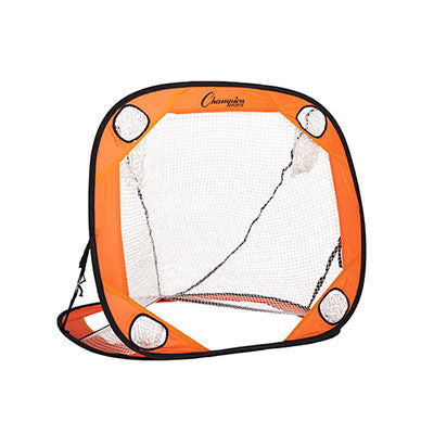 4ft Lacrosse Pop-Up Goal - Champion Sports - Soft Lacrosse™
