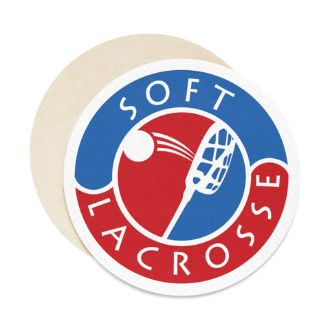 Round Paper Coaster Set - 6pcs - Soft Lacrosse™