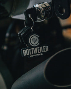 Rottweiler Motorcycle Co. Key Chain