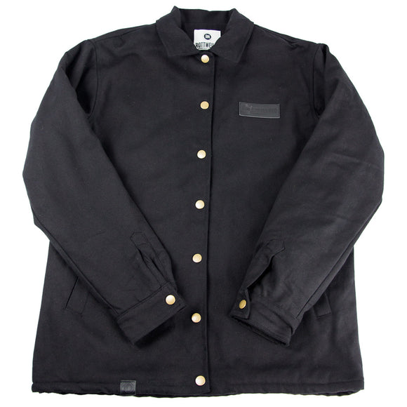 Rottweiler Sherpa Lined Coaches Jacket