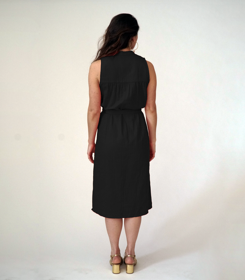 Black Carolyn Dress