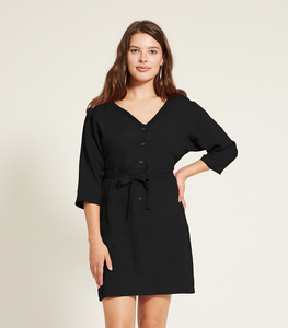 Black Reversible Emeli Dress