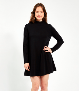 Black Franc Dress - Available in Petites!