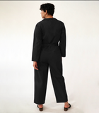 Black Gilda Jumpsuit