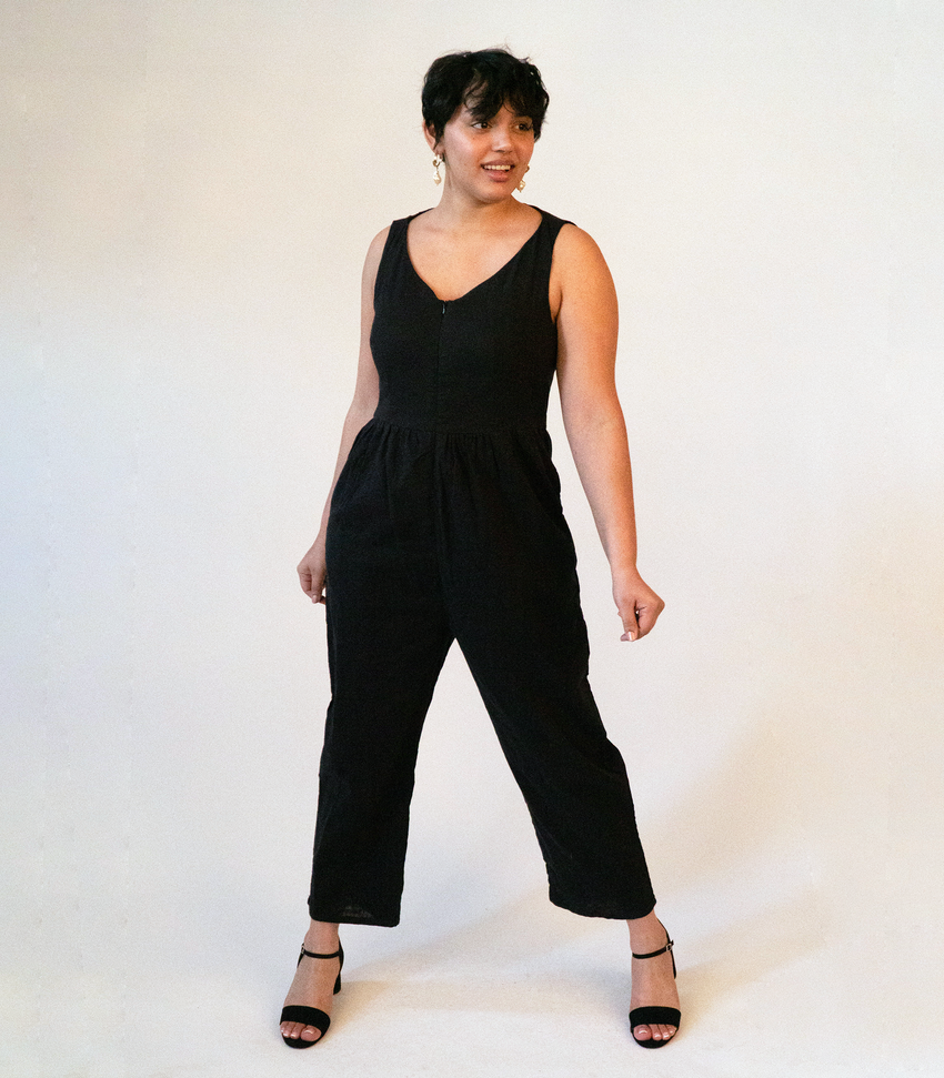 Black Lee Jumpsuit