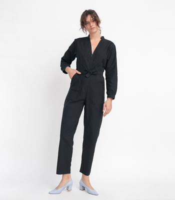 Black Mona Jumpsuit