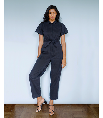 Black Patty Worksuit