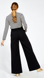 Long Black Sabrina Pants