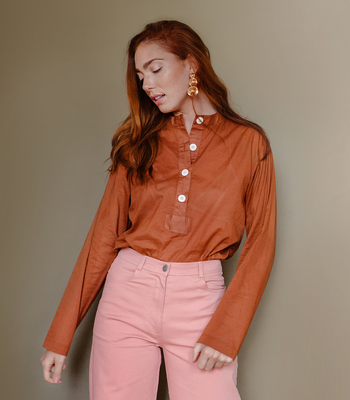 Copper Rosie Top