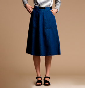 Dark Indigo Carrie Skirt