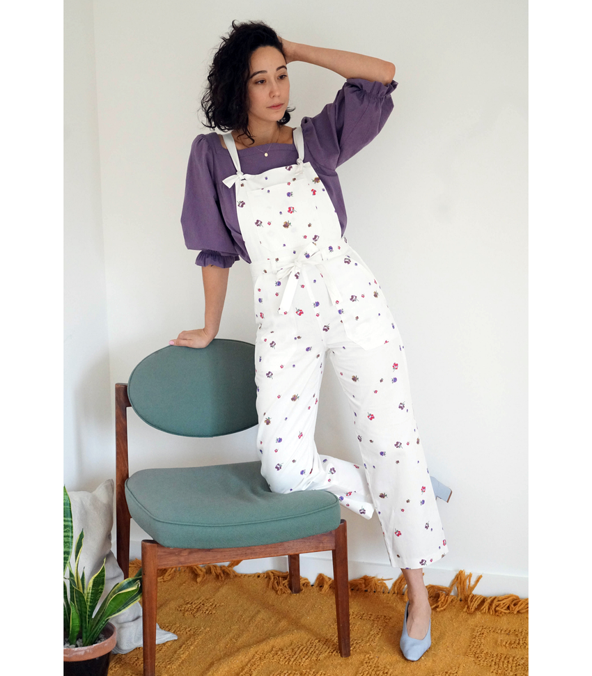 Floral Fiona Overalls