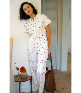 Floral Patty Worksuit