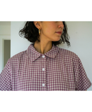 Gingham Seberg Top