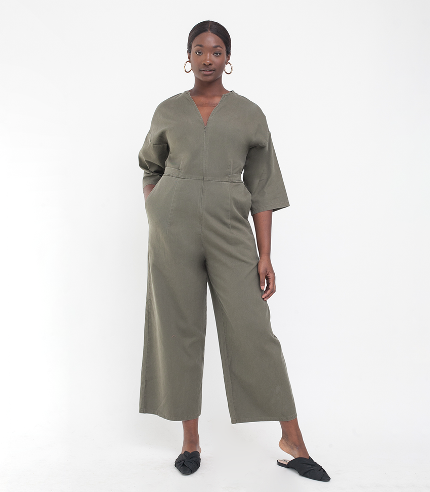 Green Ari Jumpsuit