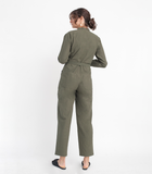 Green Mona Jumpsuit