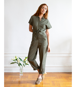 Olive Patty Worksuit