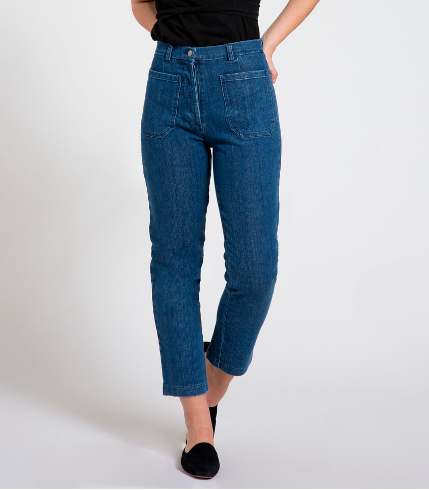 Washed Indigo Anna Jeans