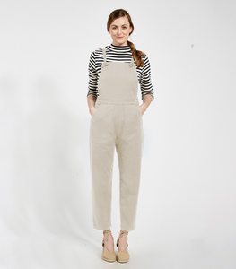 Ivory Knot Overalls