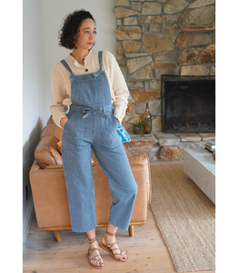 Railroad Stripe Fiona Overalls