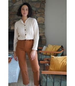 Tan James Work Pant