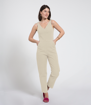 Ivory Slate Coveralls