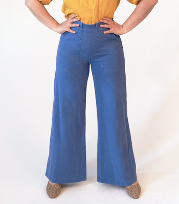 Light Royal Long Sabrina Pants