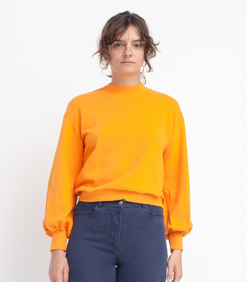 Orange Robbie Sweatshirt
