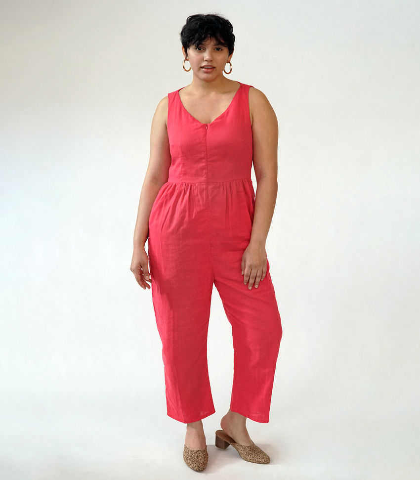 Pink Lee Jumpsuit