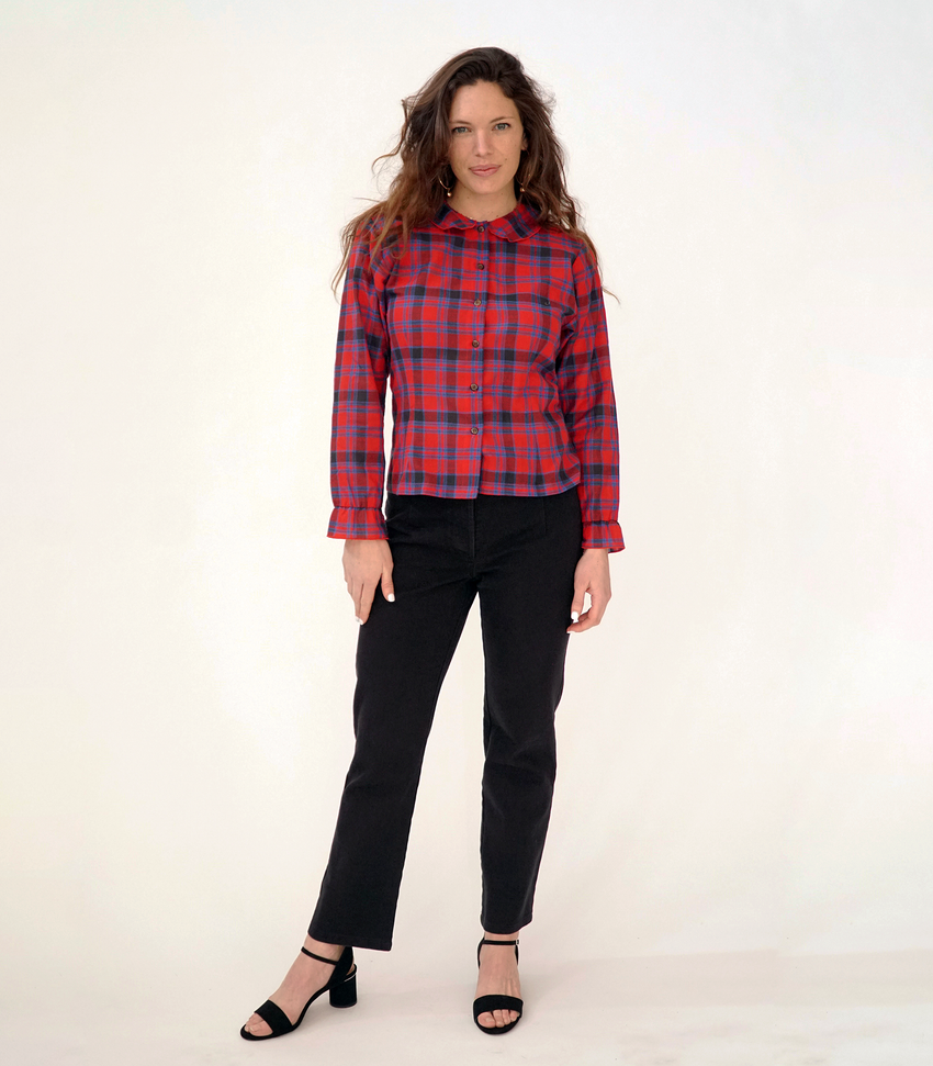 Plaid Krasner Button Up