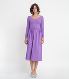 Purple Fosse Dress