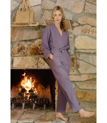 Purple Mona Jumpsuit