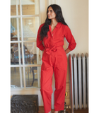 Red Gilda Jumpsuit