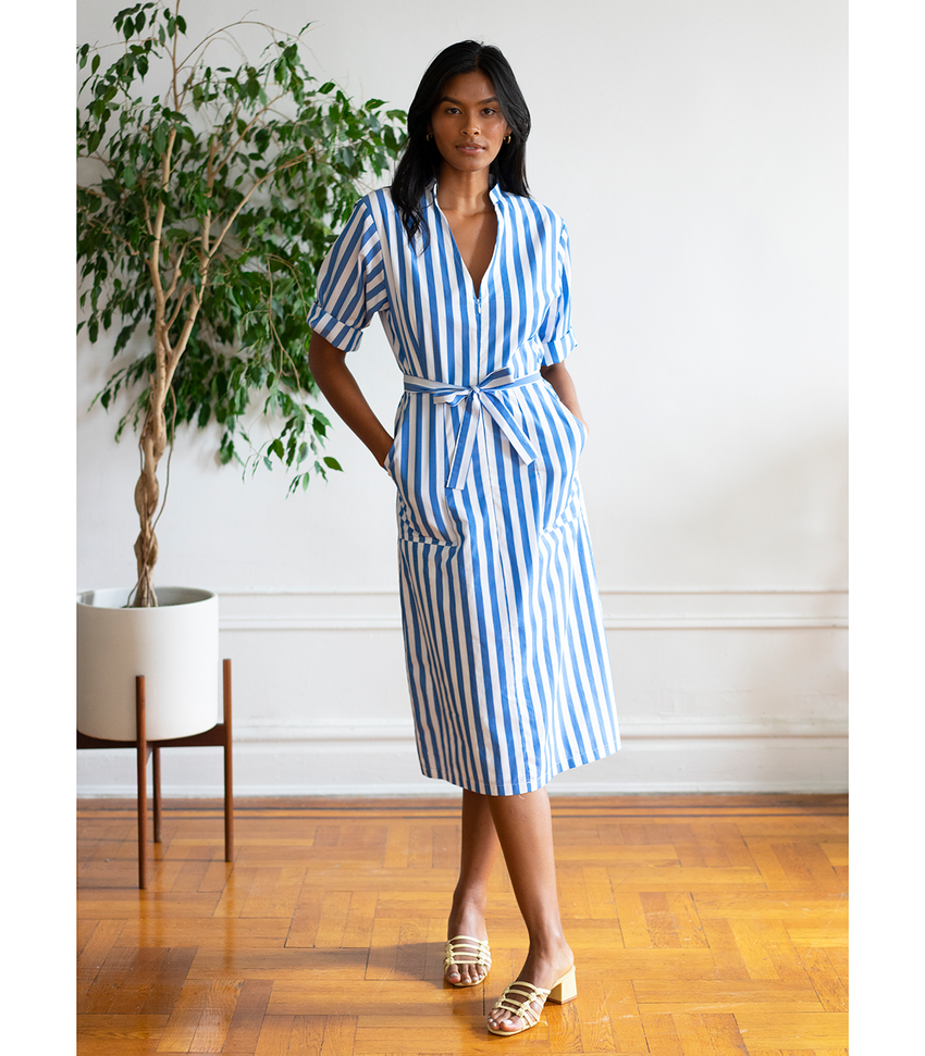 Striped Alma Dress