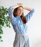 Stripe Rosie Top