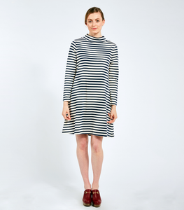 Striped Franc Dress - Available in Petites!