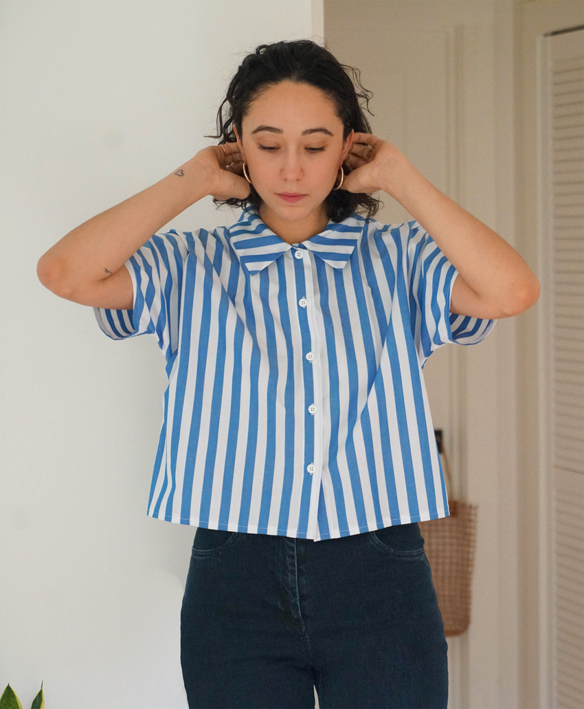 Striped Seberg Top