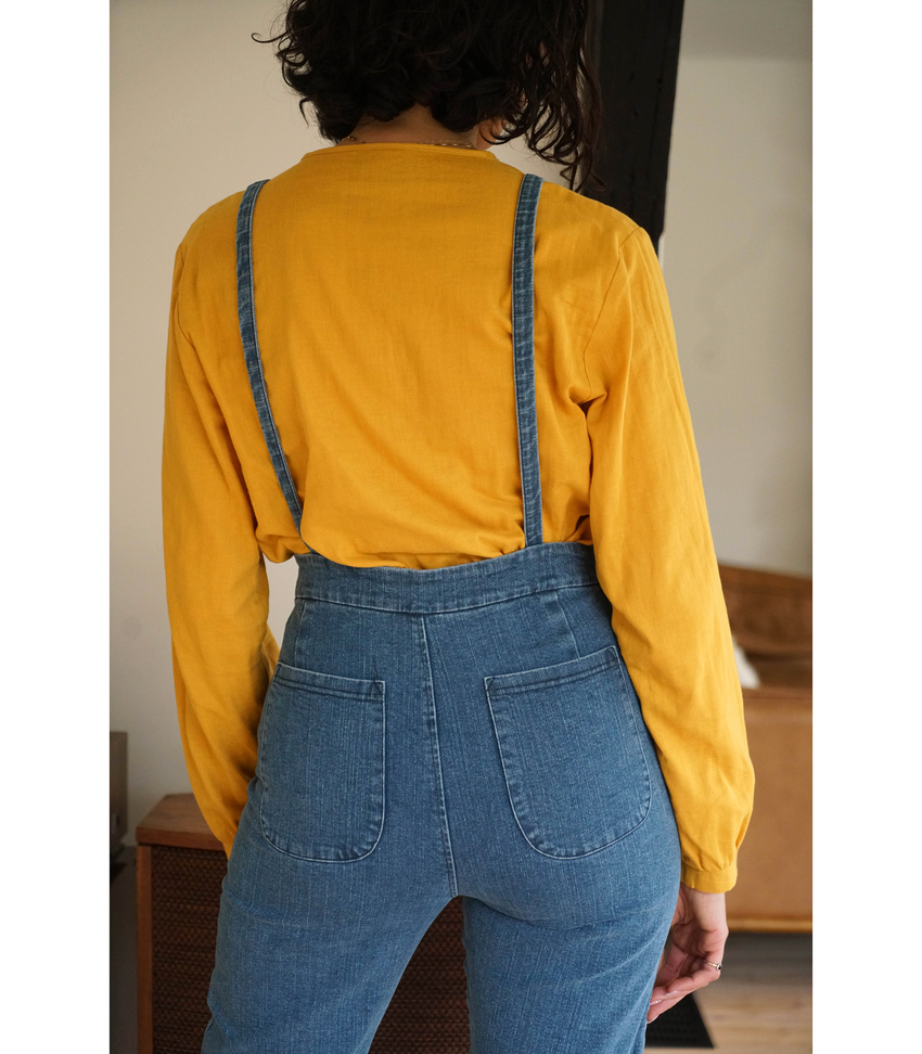 Canary Dolly Top
